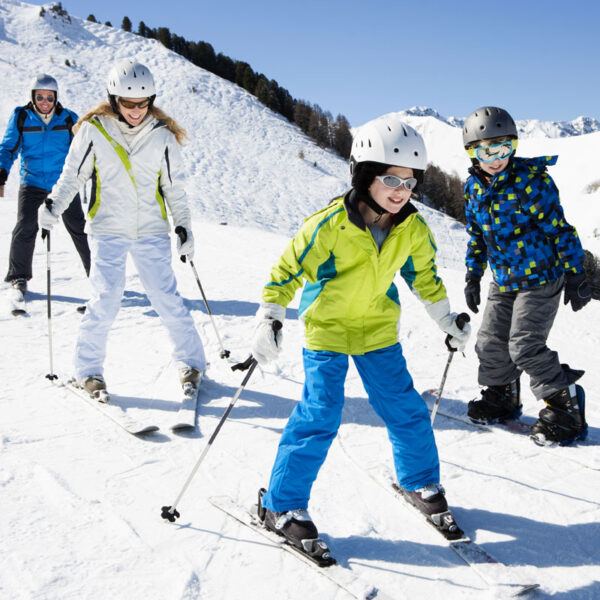Just Skis & Poles ONLY (ages 7-10)
