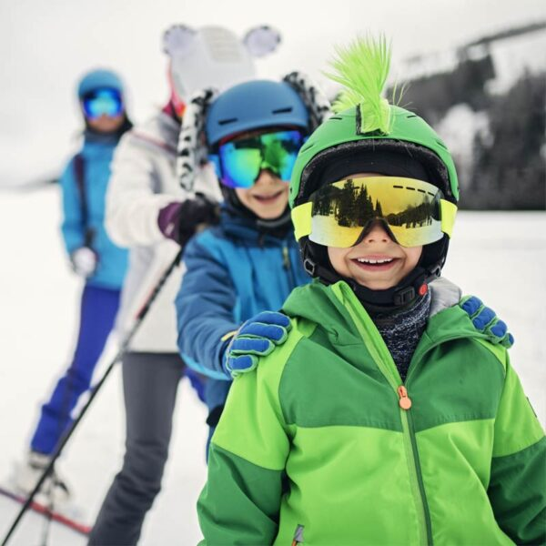 Just Skis & Poles ONLY (ages 6 and under)